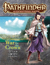 Image: Pathfinder Adventure Path: War for the Crown Part 4 of 6 - City in the Lion's Eye SC  - Paizo Inc