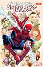 Image: Amazing Spider-Man #800 (variant cover - Greg Land) - Marvel Comics