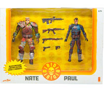 Image: DIE!DIE!DIE! Action Figure 2-Pack: Nate / Paul  (Bloody) - Image Comics