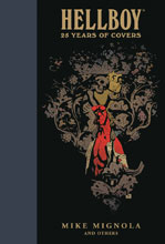 Image: Hellboy: 25 Years of Covers HC  - Dark Horse Comics