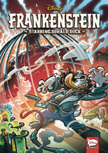 Image: Disney: Frankenstein Starring Donald Duck SC  - Dark Horse Comics