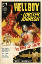 Image: Hellboy vs. Lobster Johnson: Ring of Death  - Dark Horse Comics