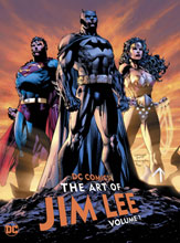 Image: DC Comics: The Art of Jim Lee Vol. 01 HC  - DC Comics
