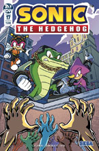 Image: Sonic the Hedgehog #17 (cover B - Peppers) - IDW Publishing