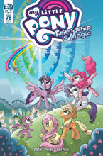 Image: My Little Pony: Friendship Is Magic #78 (incentive cover - Hickey) (10-copy) - IDW Publishing