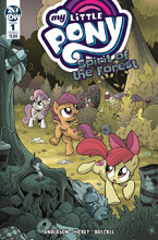Image: My Little Pony: Spirit of the Forest #1 (cover A - Hickey) - IDW Publishing