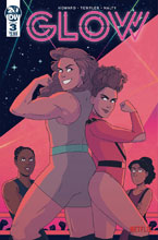 Image: Glow #3 (cover A - Templer) - IDW Publishing