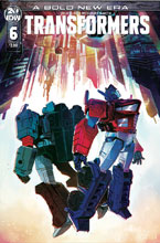 Image: Transformers #6 (cover B - McGuire Smith) - IDW Publishing