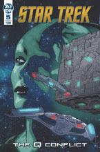 Image: Star Trek: Q Conflict #5 (cover A - Messina) - IDW Publishing