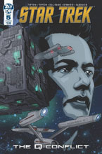 Image: Star Trek: The Q Conflict #5 (cover B) - IDW Publishing