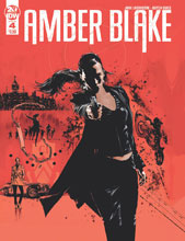 Image: Amber Blake #4 (main cover - Guice) - IDW Publishing