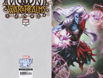 Image: War of the Realms #3 (variant Marvel Battle Lines cover - Heejin Jeon) - Marvel Comics