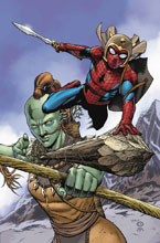 Image: Spider-Man & The League of Realms #2 (variant cover - Artist) - Marvel Comics
