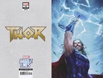 Image: Thor #13 (variant Marvel Battle Lines cover - Heejin Jeon) - Marvel Comics