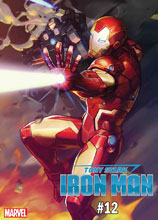 Image: Tony Stark: Iron Man #12 (variant Marvel Battle Lines cover - Nexon) - Marvel Comics