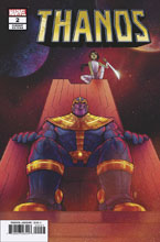 Image: Thanos #2 (variant cover - Bartel) - Marvel Comics