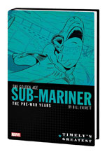 Image: Timely's Greatest: Golden Age Sub-Mariner by Bill Everett HC  - Marvel Comics