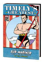 Image: Timely's Greatest: Golden Age Sub-Mariner by Bill Everett HC  (DM version) - Marvel Comics