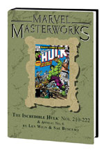 Image: Marvel Masterworks Vol. 279: The Incredible Hulk Nos. 210-222 & Annual No. 6 HC  - Marvel Comics