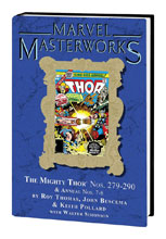 Image: Marvel Masterworks: Mighty Thor Vol. 18 HC  (DM variant cover) (280) - Marvel Comics