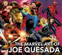 Image: Marvel Art of Joe Quesada HC  (new printing) - Marvel Comics