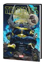 Image: Thanos Rising Marvel Select HC  - Marvel Comics