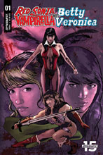 Image: Red Sonja & Vampirella Meet Betty & Veronica #1 (cover G - Cat Staggs) - Dynamite