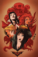 Image: Red Sonja and Vampirella Meet Betty and Veronica #1 (incentive cover - Francesco virgin) (50-copy)  [2019] - Dynamite