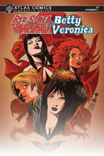 Image: Red Sonja and Vampirella Meet Betty and Veronica #1 (variant cover - Atlas edition) - Dynamite