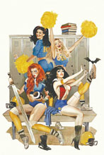 Image: Red Sonja & Vampirella Meet Betty & Veronica #1 (variant cover - Dalton virgin) - Dynamite