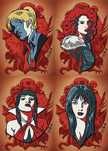 Image: Red Sonja and Vampirella Meet Betty and Veronica Pin Set  - Dynamite