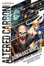 Image: Altered Carbon: Download Blues HC  - Dynamite