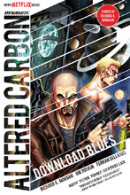 Image: Altered Carbon: Download Blues HC  (signed) - Dynamite
