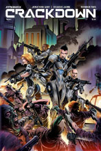 Image: Crackdown #4 (cover A - Jaime) - Dynamite