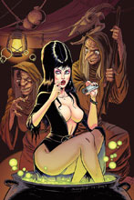 Image: Elvira: Mistress of the Dark #10 (incentive cover - Seeley virgin) (25-copy) - Dynamite