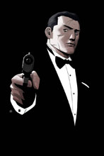 Image: James Bond 007 #7 (incentive cover - Pham virgin) (20-copy) - Dynamite
