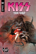 Image: Kiss End #2 (cover A - Sayger) - Dynamite