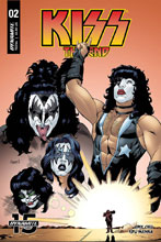 Image: Kiss End #2 (cover B - Coleman) - Dynamite