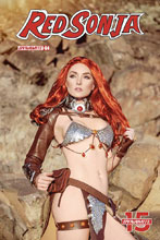 Image: Red Sonja #4 (cover E - Cosplay) - Dynamite