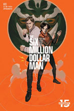 Image: Six Million Dollar Man #3 (cover C - Magana) - Dynamite