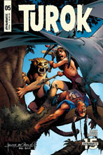 Image: Turok #5 (cover A - Morales) - Dynamite