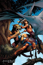 Image: Turok Vol. 04 #5 (incentive cover - Morales virgin) (30-copy) - Dynamite