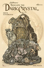 Image: Jim Henson: Beneath Dark Crystal #9 (variant Preorder cover - Petersen) - Boom! - Archaia