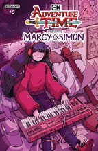 Image: Adventure Time: Marcy & Simon #5 (variant Preorder cover - Marcy) - Boom! - KaBOOM!