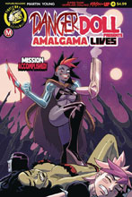 Image: Danger Doll Squad Presents: Amalgama Lives #4 (cover A - Young) - Action Lab - Danger Zone