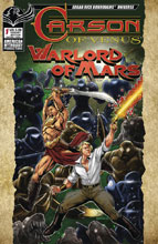 Image: Carson of Venus / Warlord of Mars #1 (variant Warriors cover - Mesarcia) - American Mythology Productions