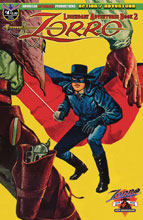 Image: Zorro: Legendary Adventures Book 2 #4 (main cover) - American Mythology Productions