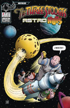 Image: Three Stooges: Astro Nuts #1 (variant Cheese cover - Shanower) - American Mythology Productions