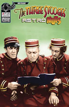 Image: Three Stooges: Astro Nuts #1 (Photo cover) - American Mythology Productions