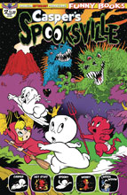 Image: Casper's Spooksville #2 (main cover - Shanower) - American Mythology Productions